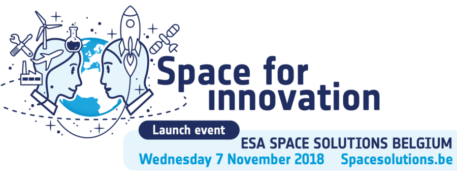 Launch event of ESA Space Solutions Belgium