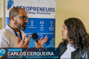 Astropreneurs at the Fall Network Meeting in Coimbra, Portugal
