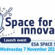 Launch ESA Space Solutions Belgium