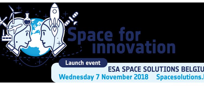 Launch ESA Space Solutions Belgium